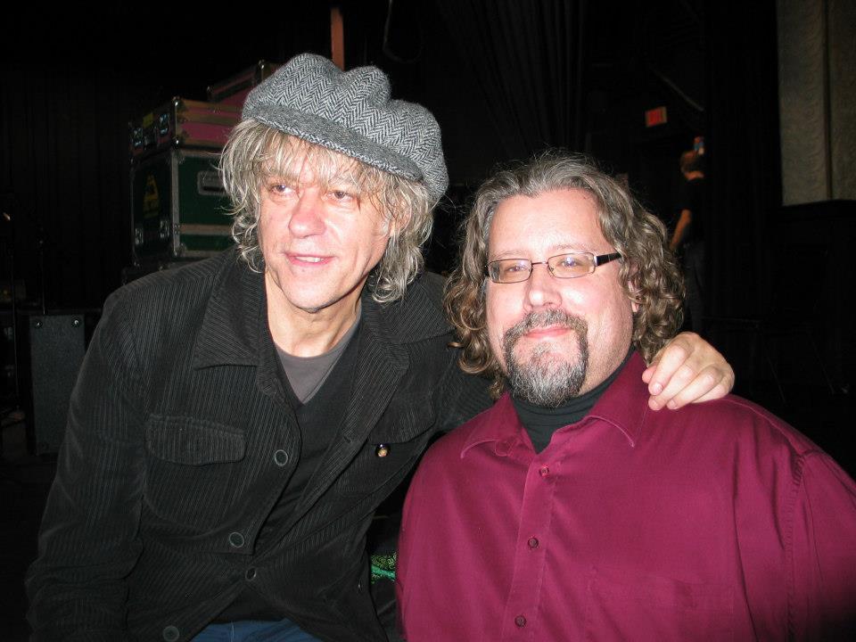 Jim and Bob Geldof