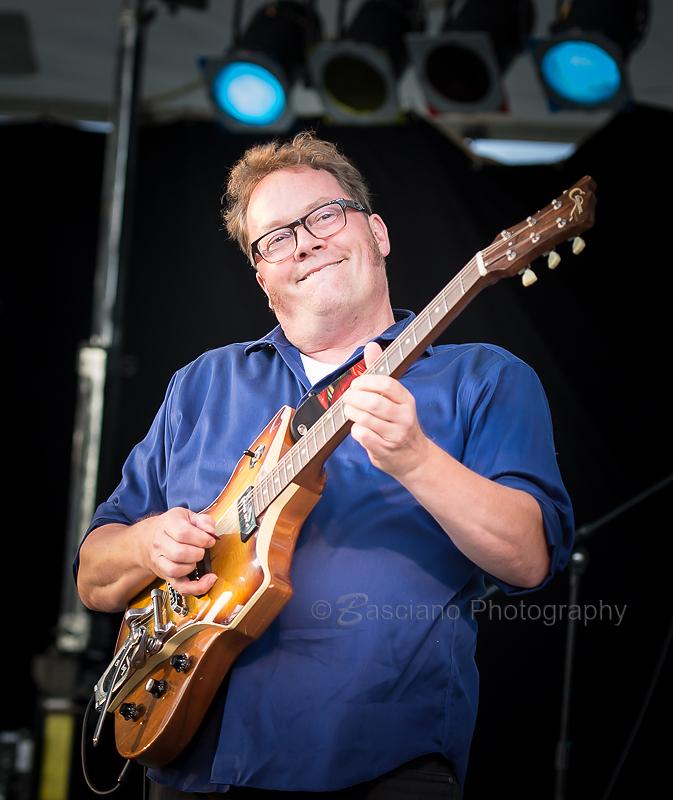 Rick Fines at Peterborough MusicFest 2015. PHOTO CREDIT: Ernie Basciano