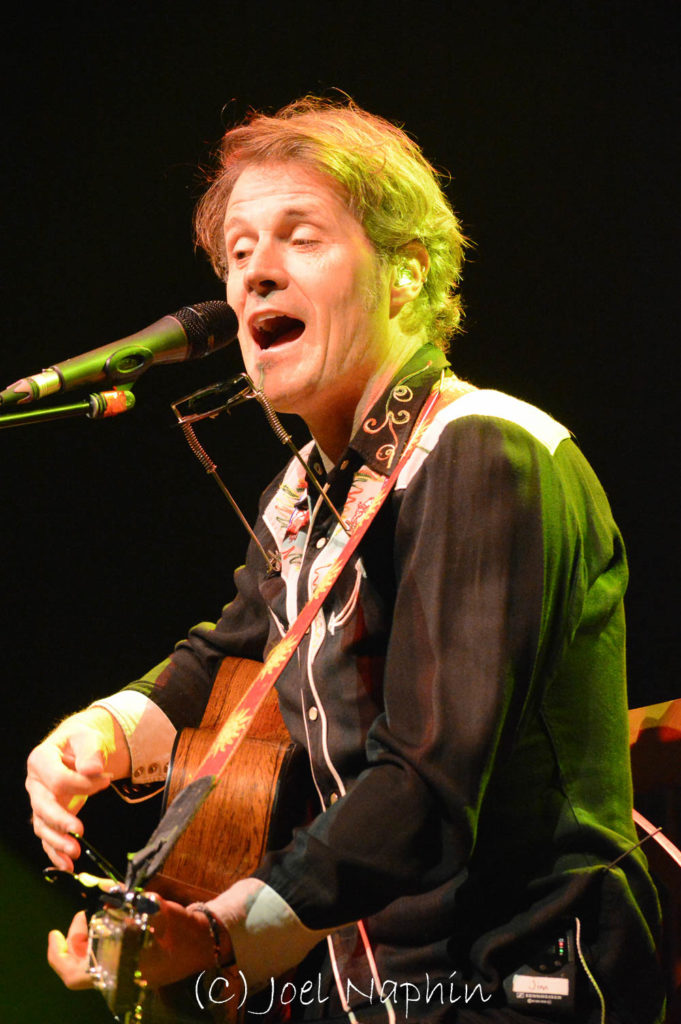 Blue Rodeo's Jim Cuddy last November headlining the Light Of Day concert in St. Catharines, Ontario. (PHOTO CREDIT: Joel Naphin)