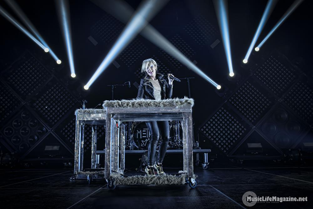 Metric performs at the Meridian Centre in St. Catharines
