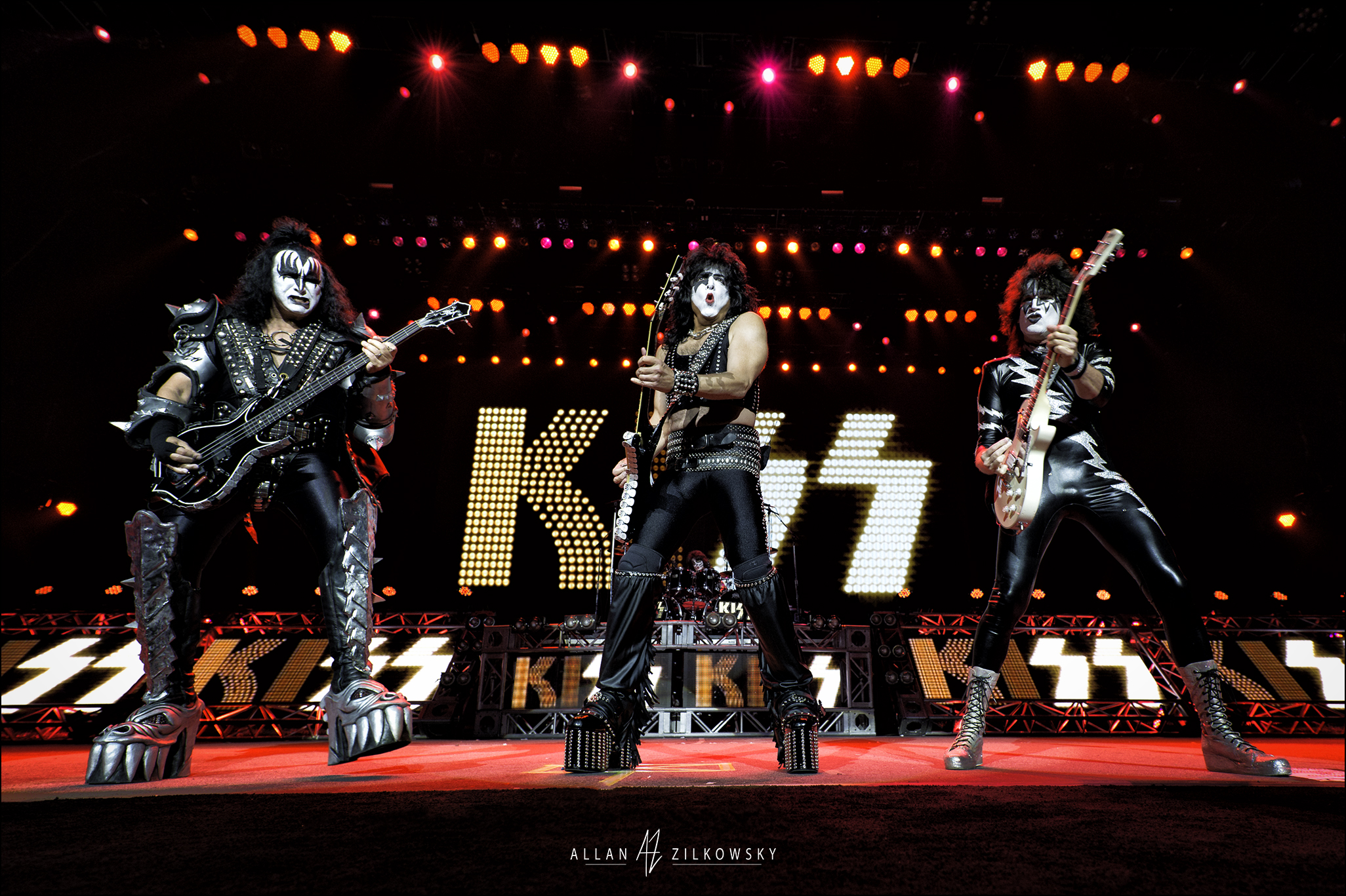Kiss Freedom To Rock Tour August