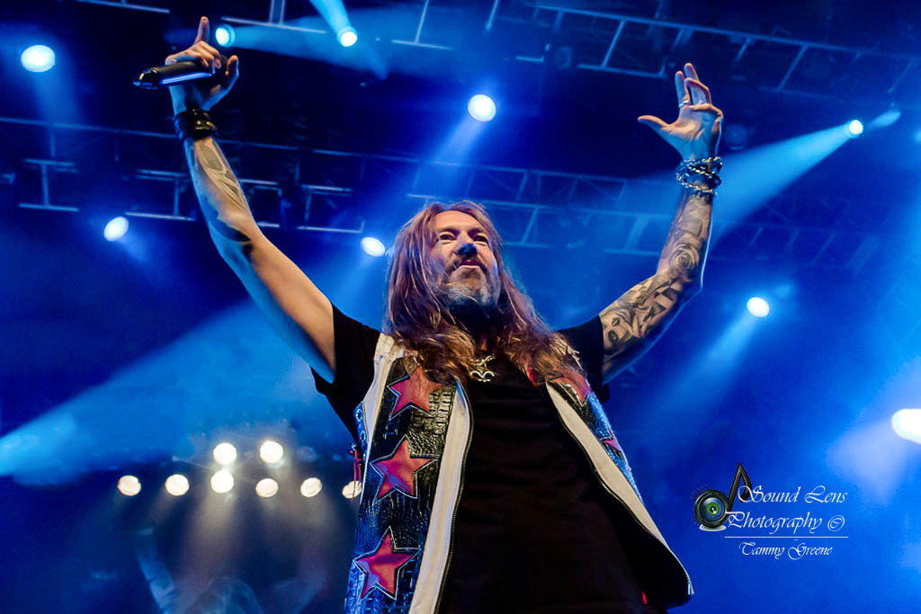 Greene Sound Lens Photography | HammerFall with Flotsam and