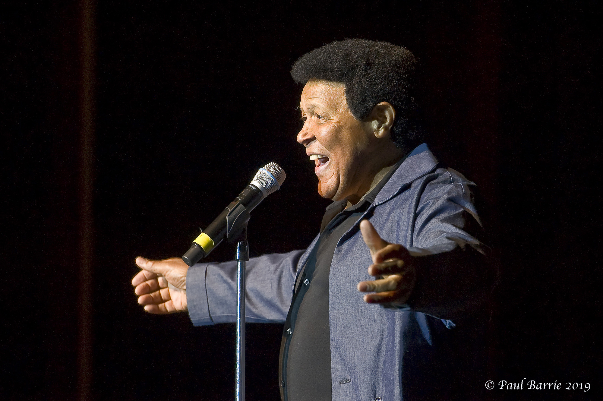 Chubby Checker At Sanderson Centre For The Performing Arts